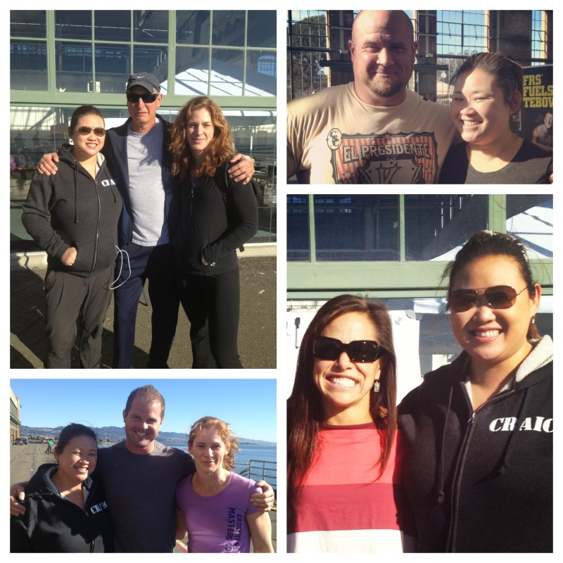 Clockwise from top left: Jimmy Baker, Jesse Burdick, Annie Sakamoto, Kelly Starrett