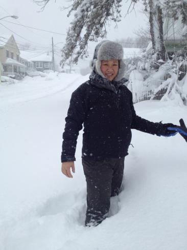 Deep snow!