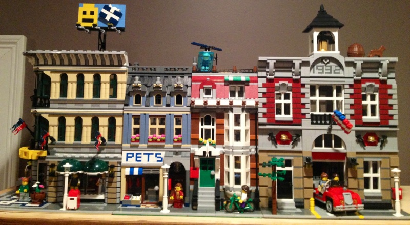 Lego Town...so far!