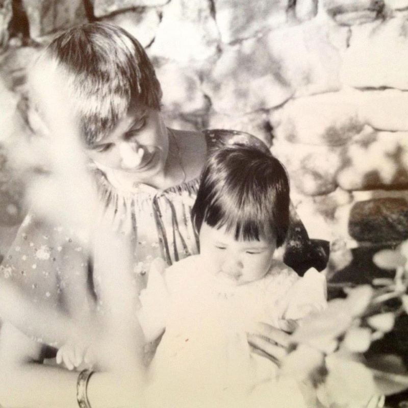 Me and my momma circa 1978