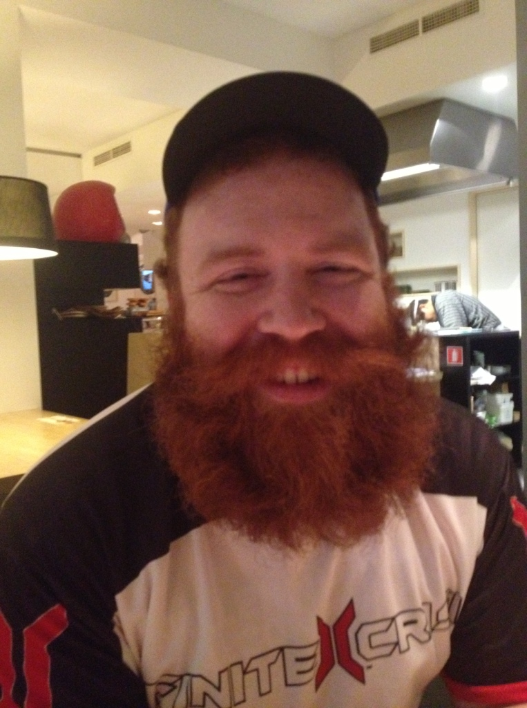 Red Beard's beard (aka Dave Williams, one of the nicest guys I  know).