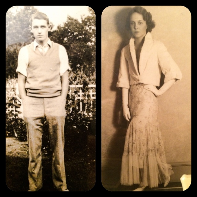 Pictures of my grandparents - they were so fly