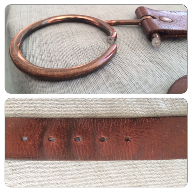 Top: Broken Buckle Bottom: All the notches (Which are kind of awesome to see!)