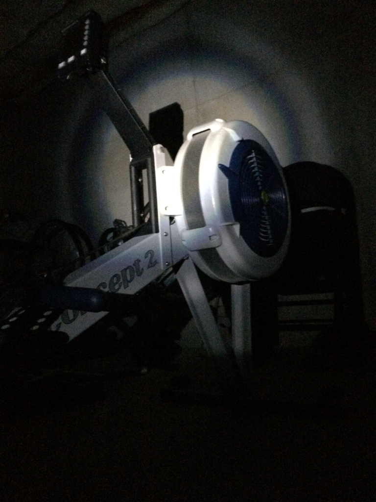 Flashlight and a rower!