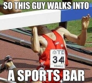 This would be me...and why I'm terrified of hurdles.