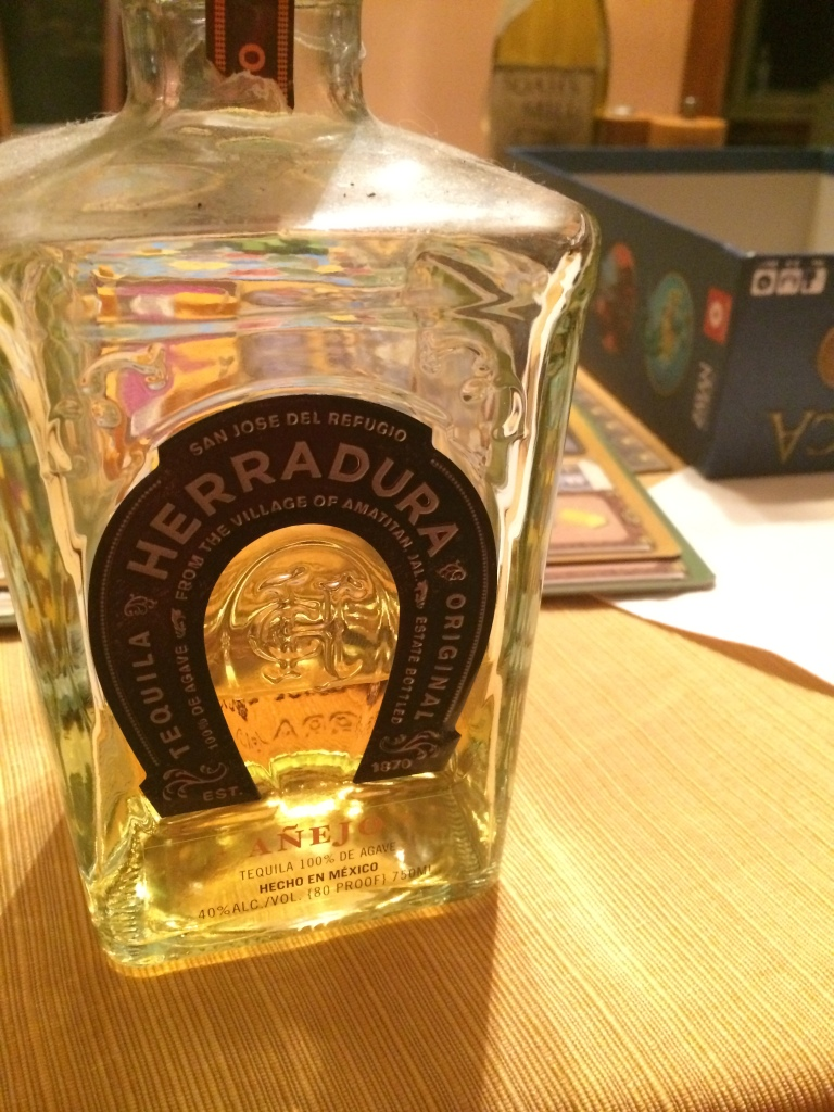 Tried a new tequila.  Good sipping one.